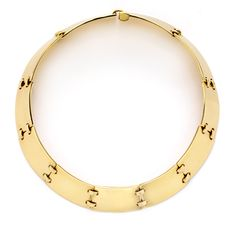 FD GALLERY | Rare & Vintage | A Gold Collar Necklace, by Hermes
