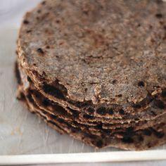 Rye tortillas - very healthy