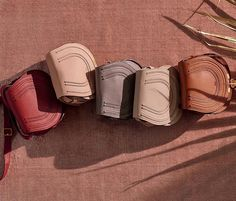 The the festive line-up – fall in love with the earthy colour palette of our mini Marcie saddle bag on chloe.com