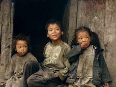 NEPAL, Annapurna TREK, Brudaski ale szczęśliwe :), NEPAL