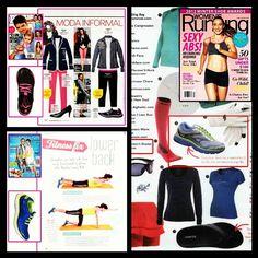 Check out the latest #RYKA #press #AsSeenIn @Women's Running Magazine, @peopleenespanol magazine & @Weight Watchers Australia!