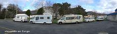 Viaxando en furgo: A CORUÑA: Área de autocaravanas de Cariño