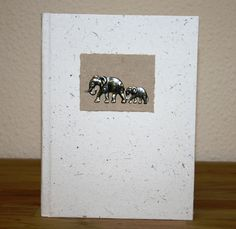 This unique elephant dung notebook is great to use as a journal or as an everyday notebook making it the perfect quirky gift.