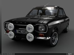 Ford Escort Mexico.