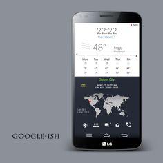 Googlecon Android Homescreen