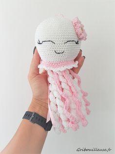 Crochet Amigurumi, Crochet Hats, Dolls, Knitting, My Love, Crafts, Amigos, Crochet Octopus, Easy Crochet Animals