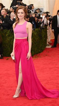 Emma Stone - Met Gala 2014
