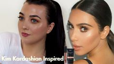 Hey glam squad, today I'm creating a Kim Kardashian natural inspired look Look using Affordable makeup, really hope you enjoy love Saz x Makeup Lessons, Brow Gel, Fashion Beauty, Fashion Tips, Makeup Videos, Bronzer, Kim Kardashian, Brows, Squad