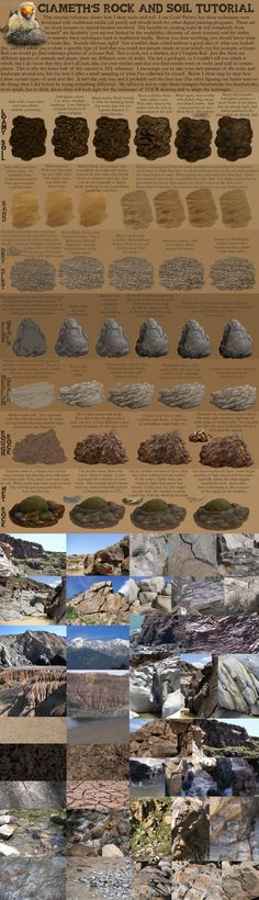 Ciameth's Rock Tutorial by Ciameth earth soil sand dirt stone how to tutorial instructions | Create your own roleplaying game books w/ RPG Bard: www.rpgbard.com | Dungeons and Dragons Pathfinder RPG Warhammer 40k Fantasy Star Wars Exalted World of Darkness Dragon Age 13th Age Iron Kingdoms Fate Core Savage Worlds Shadowrun Call of Cthulhu Basic Role Playing Traveller Battletech The One Ring d20 Modern DND ADND PFRPG W40K WFRP COC BRP DCC TOR VTM GURPS science fiction sci-fi horror art