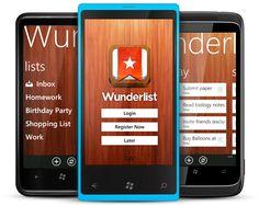 Wunderlist, el gestor de tareas multiplataforma, llega a Windows Phone  http://www.genbeta.com/p/68082