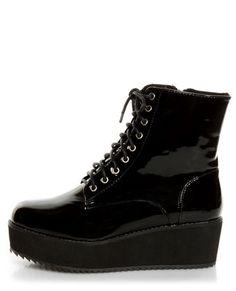 66c8c4888fe C Label Nata 1 Black Patent Platform Combat Boots