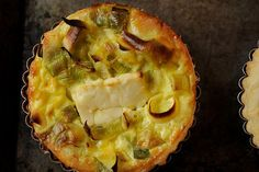 Leek, Lemon, and Feta Quiche, a recipe on Food52