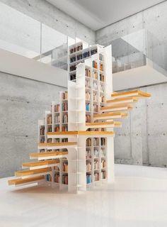 50 Creative Ways To Incorporate Book Storage In & Around Stairs