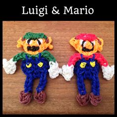 Rainbow Loom Super Mario Bros