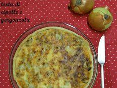 MATRIMONIO IN CUCINA: Pasta brisée ( homemade) con cipolle e gorgonzola