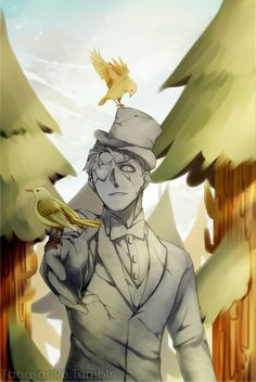 If Bill Cipher was human