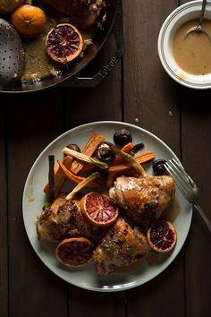 Blood Orange Roasted Chicken