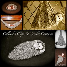 Crochet Pattern Thick N' Quick Crochet Hammock by calleighsclips. $4.50, via Etsy.