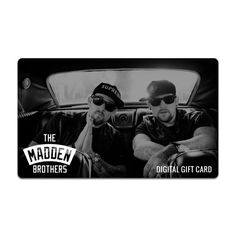 The Madden Brothers Gift Card | Madden Brothers