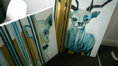 Feral Creatures Creatures, Painting, Art, Art Background, Painting Art, Kunst, Paintings, Performing Arts, Painted Canvas