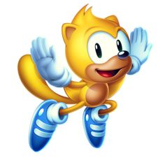 The return of Ray the Flying Squirrel on Sonic Mania Plus for the first time since SegaSonic the Hedgehog in the 1993 Sega arcade game when he was introduced.