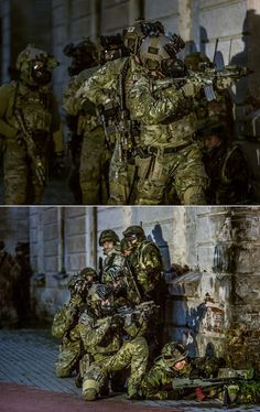 Members of the U.S Navy SEALs, Latvian Special Forces and Norwegian Special Forces In the joint training exercise Flaming Sword. Google+