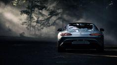 Mercedes-Benz AMG GTS #mercedes #wallpaper #amg