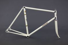 """1960 Cinelli Super Corsa track bike  The Italian Olympic Committee outfits the entire Italian track cycling team with Cinelli Pistas and tandem Pistas for the 1960 Rome Olympics. 1960 Mod. S.C. referred to as """"Super Corsa"""" in 1960 Ron Kitching catalog."""