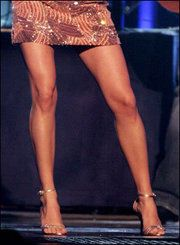 Carrie Underwood legs AMAZING.  I need to make an appointment with the leg press.....yup
