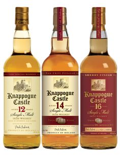 Irish Whiskey Review – A Trio of Knappogue Castle Expressions. My opinion, good, not great. Tullamore Dew, Midleton, and Red Breast are better.