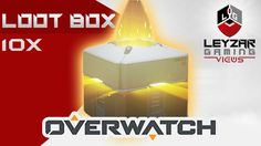 Overwatch - Opening Loot Box (Kinder Effect Achieved) I got all of these by playing, you get one box every level and most items can drop from these boxes. Overwatch, Get One, Box, Movie Posters, Snare Drum, Film Poster, Billboard, Film Posters