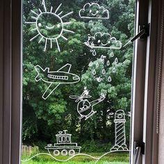 Nieuwe @raamtekening voor Sam #raamtekening #windowdrawing