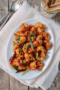 General Tso's cauliflower is the vegetarian version of the beloved Chinese American General Tso's Chicken. Our General Tso's cauliflower is just as good!.