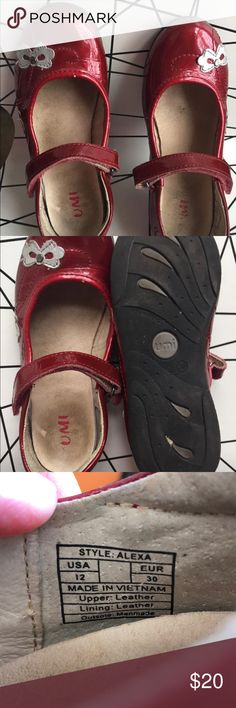 UMI ALEXA Girls Mary Jane Shoes Size 12 EURO 30 UMI girls Mary Janes that my daughter had to have. Wore them for about a week and then decided she didn't like red!   Great condition. No smoking. Dog friendly home. Umi Shoes Dress Shoes