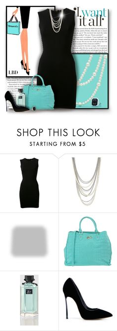 """""""Little Black Dress"""" by debraelizabeth ❤ liked on Polyvore featuring Balmain, Henri Bendel, Shabby Chic, Secret PonPon, Gucci, Casadei, Ariella Collection and LBD"""