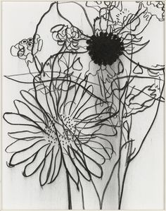 Untitled III Gary Hume (British, born 1962) 2001. Charcoal on canvas