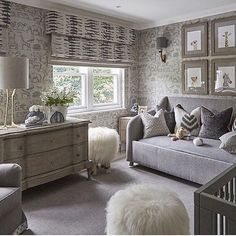 Perfect baby nursery......Tag a friend who would love this for their bundle of joy..... credit: @sophiepatersoninteriors  #beautifulhome#classyinteriors#luxurydesign#elledecor#housebeautiful#betterhomesandgardens#neutraldecor#interiortrends#homegoals#ighome#bhg#myhousebeautiful#inspireme#instadesign#homedecor#interiorlovers#interiorandhome#interiorforinspo#ambientes#homestaging#instahomes #maison#nursery#nurserydesign#nurserydecor#kidsroom#nurseryinspo