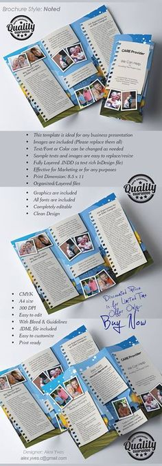 Brochure Trifold, File Organization, Text Fonts, Business Presentation, Facebook