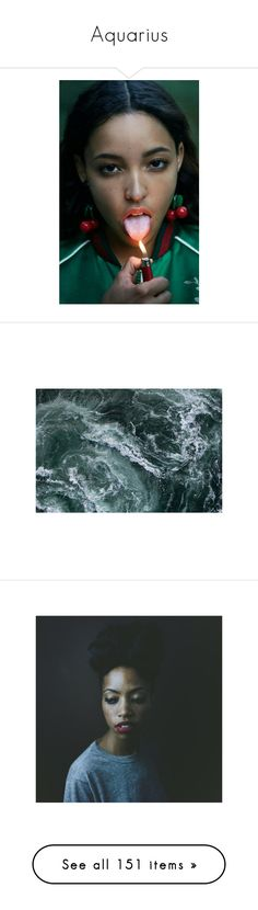 """""""Aquarius"""" by thottieb ❤ liked on Polyvore featuring pics, people, pictures, backgrounds, photos, blue, water, filler, pic and images"""