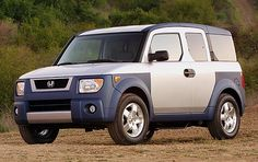 I would buy a Honda Element in every color and hire people to take care of them so I'd always have one to drive, even though they don't make the cars any more