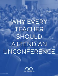 Whether it& called an Edcamp or a TeachMeet, an unconference offers a fun, no-pressure, FREE alternative for professional development. Cult Of Pedagogy, Student Voice, Professional Development For Teachers, Secondary Teacher, Teaching Strategies, Educational Technology, Learning, Alternative, Fun