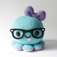 Kawaii octopus plushie by latonya