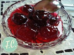 Greek Recipes, Fruit Recipes, No Bake Cookies, Recipe Using, Cherry, Pudding, Sweets, Baking, Desserts