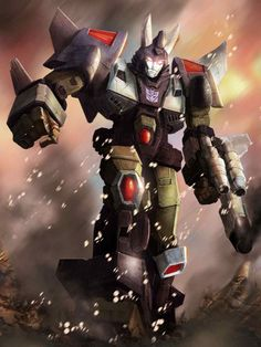 Decepticon Cyclonus Artwork From Transformers Legends Game