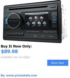 Vehicle Electronics And GPS: Power Acoustik Pd-342B Double 2 Din Cd/Dvd/Mp3 Player 3.4 Lcd Bluetooth Usb Aux BUY IT NOW ONLY: $89.98 #priceabateVehicleElectronicsAndGPS OR #priceabate