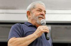Em evento de campanha no Rio, ex-presidente volta a atacar os investigadores da Operação Lava Jato; petista não cita a prisão de Palocci.