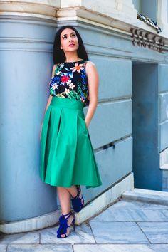 Midi skirt by @annabelle_moda