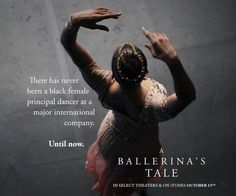 10/1/15  New Film Shows Misty Copeland's Journey as a Black Ballerina in a predominately white profession. #NelsonGeorge #StandingOnTheirShoulders