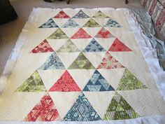 Quilting Is My Bliss: Kristen's Quilt - Toes in the Sand