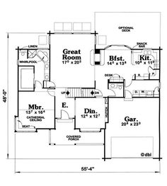 22 cool empty nester house plans house plans 63272 nice for Luxury empty nester house plans